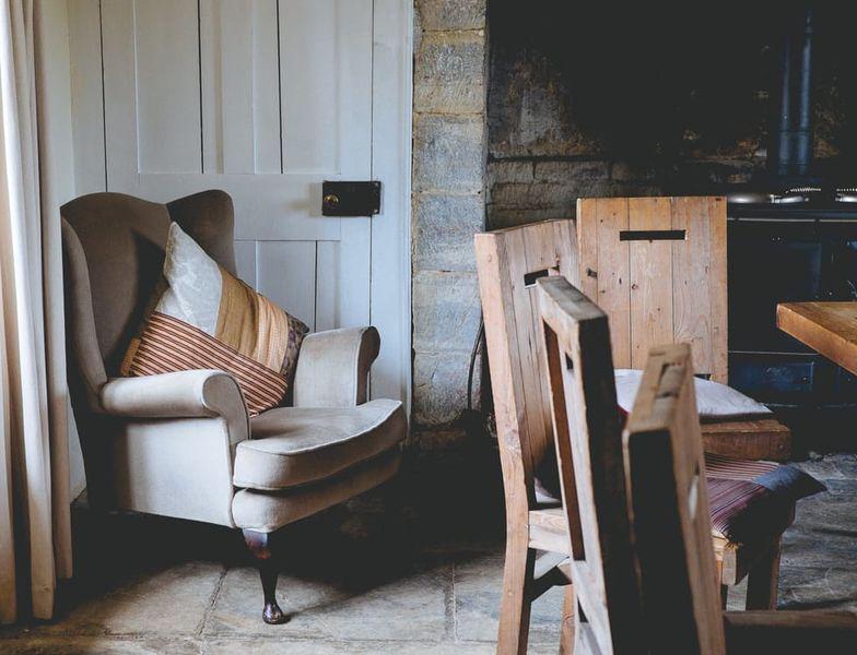 Eikenhout fauteuil