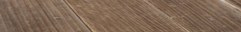 Benadrukte materialen Elise houten tafel