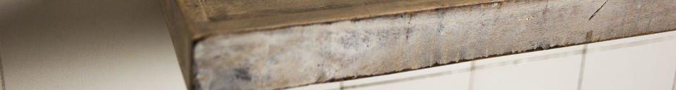 Benadrukte materialen Epicure wandplank