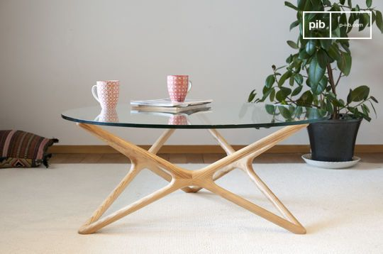 Estrella glazen salontafel