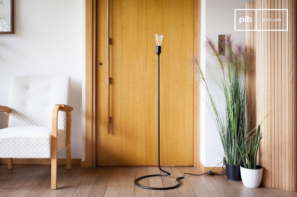 Een balancerende leeslamp met elegant minimalisme
