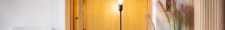 Benadrukte materialen Eugenia draad leeslamp