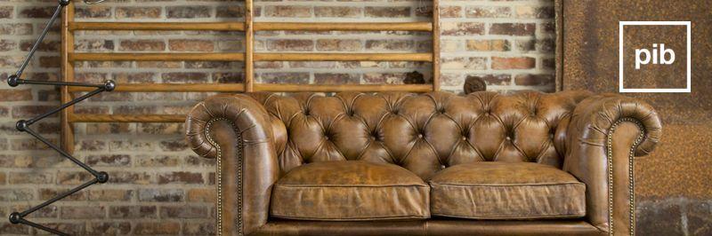 Fauteuils en stoelen in industriële stijl snel terug weer in collectie