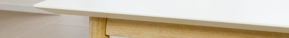 Benadrukte materialen Fjord rechthoekige salontafel