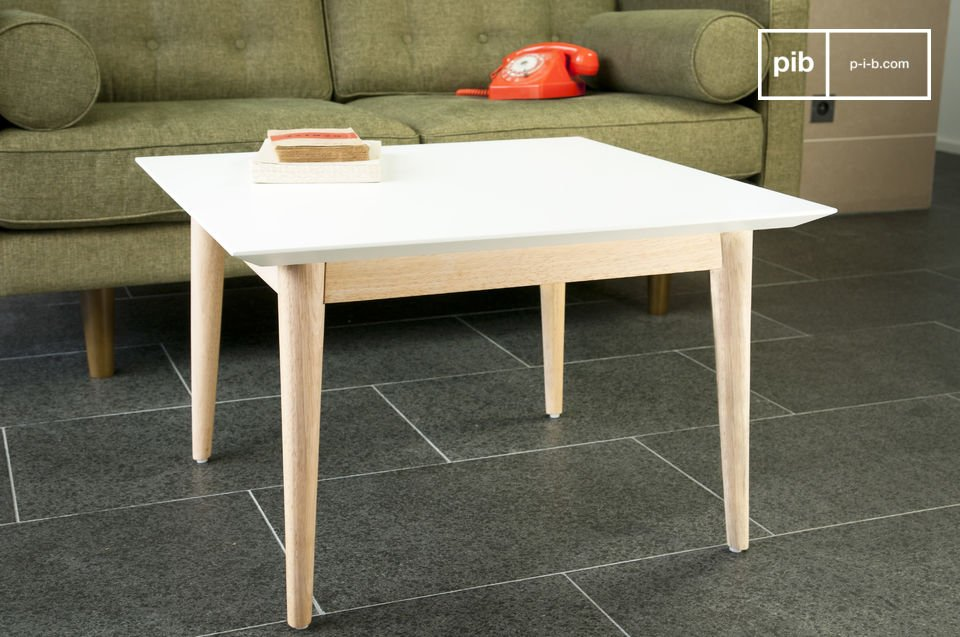 Fjord vierkante salontafel
