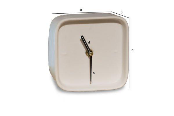 Productafmetingen Fjorden porseleinen klok