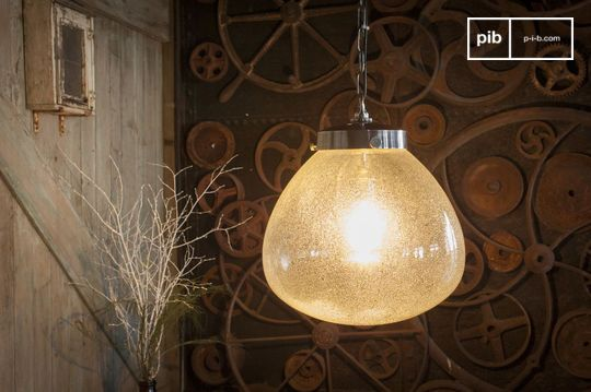 Geblazen glas hanglamp Bangor