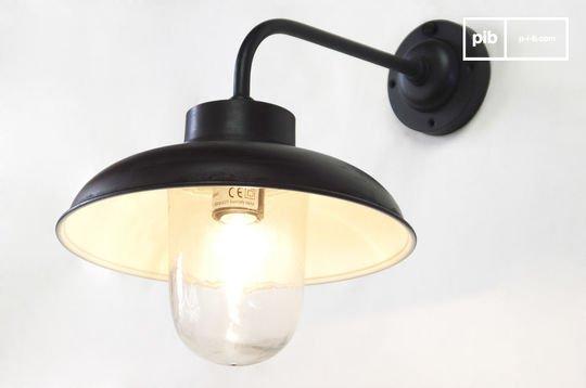 Gebogen wandlamp