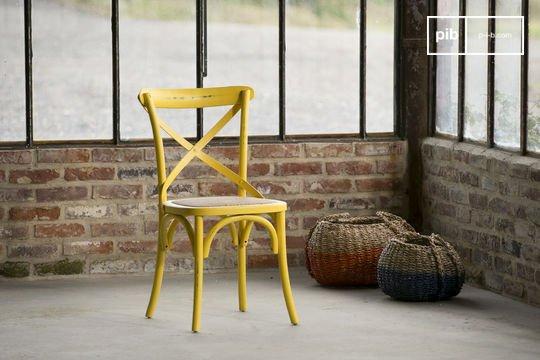 Gele Pampelune stoel