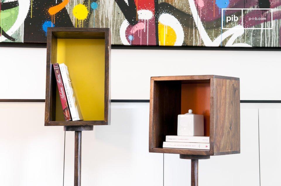 Een praktisch en kleurrijk meubelstuk
