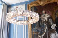 Glazen Monte Carlo kroonluchter