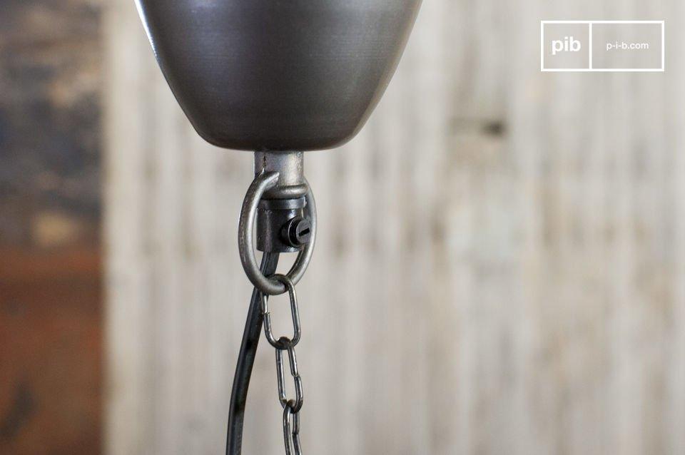 Grote heldere vintage hanglamp