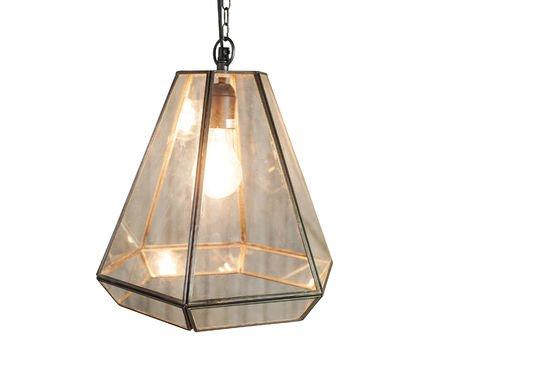 Glazen Trapèze hanglamp Productfoto
