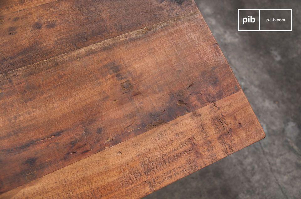 Antiek hout en metalen wielen
