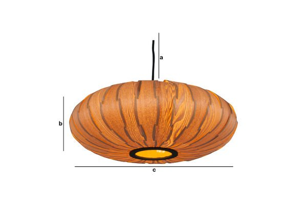 Productafmetingen Gresskar hanglamp