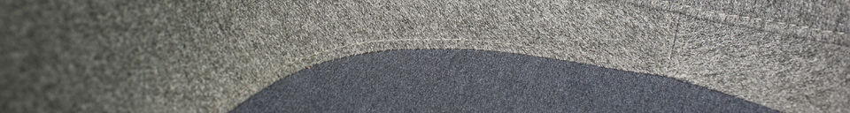 Benadrukte materialen Grey Grimsson fauteuil