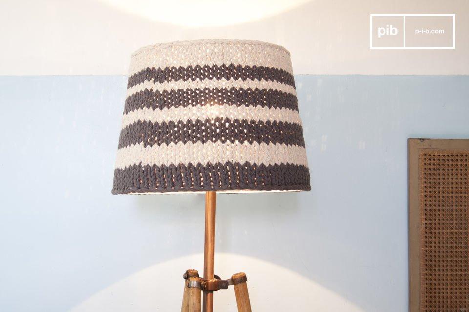 Grijze Paimpol lampenkap