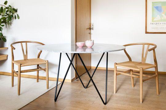 Grimaud Marmeren ronde tafel
