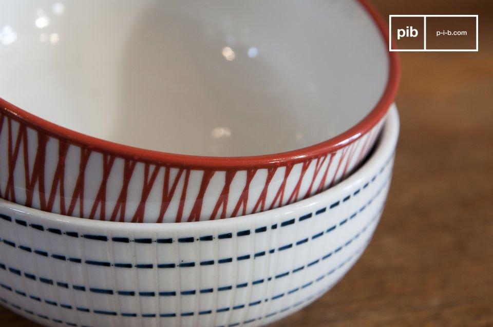 De 6 prachtige Grite kommen geven je ontbijttafel meteen een Scandinavische touch