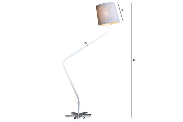 Productafmetingen Grogg leeslamp