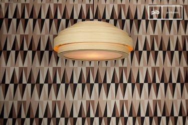 Grote bamboe hanglamp