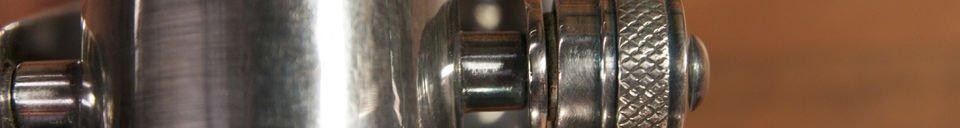 Benadrukte materialen Grote Bistro wandlamp