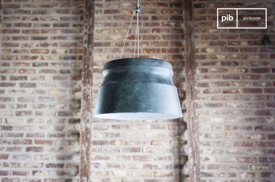 Een grafische lamp met industriële accenten