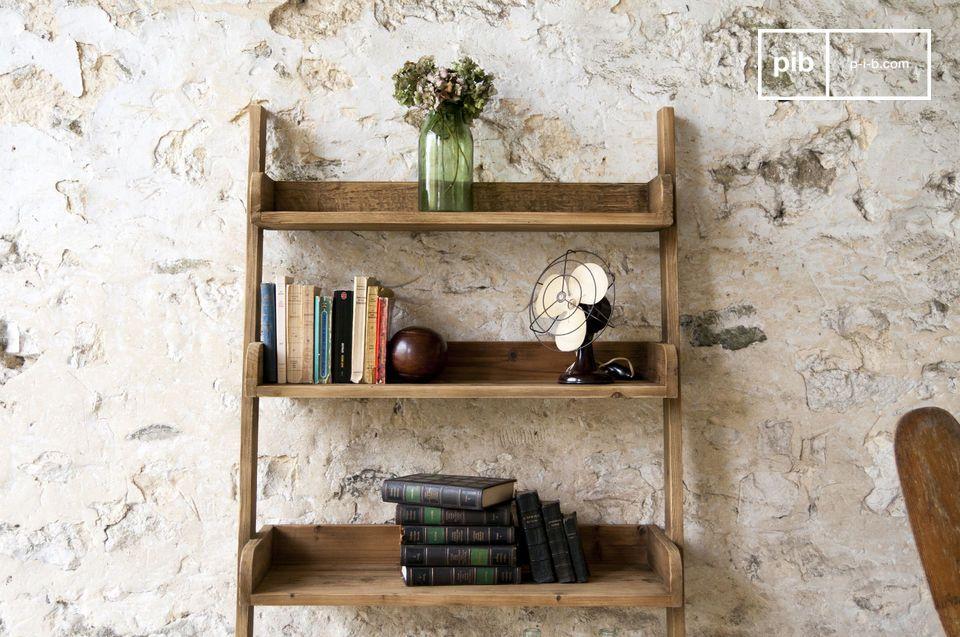 Een praktische opbergruimte die de stijl en robuustheid van meubilair uit midden twintigste eeuw