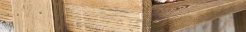 Benadrukte materialen Grote Echelle boekenkast