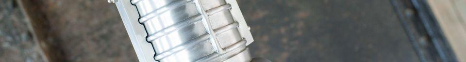 Benadrukte materialen Grote Friedler industriële hanglamp