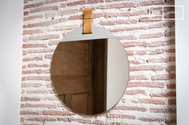 Grote ingang spiegel met riem