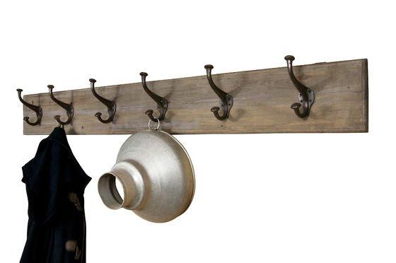 Grote kapstok van hout en metaal Productfoto