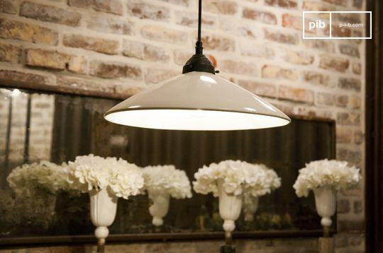 Grote keramische hanglamp Pornic