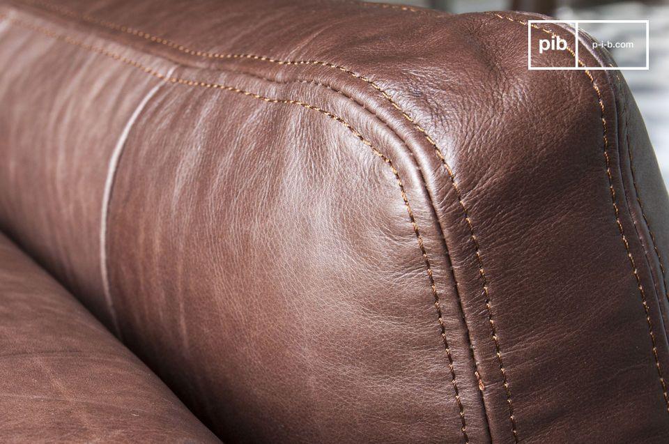 U kunt het combineren met een koffietafel in een modern design of een vintage industriële