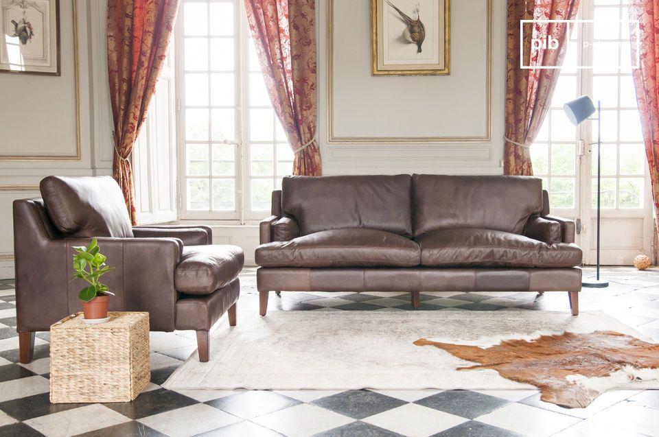 U kunt de inrichting van uw woonkamer afronden met een of twee fauteuils van dezelfde collectie om