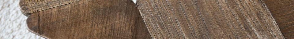 Benadrukte materialen Grote Lincoln salontafel