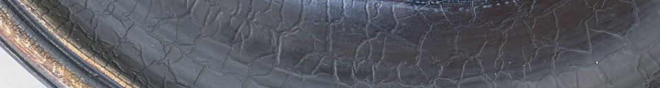 Benadrukte materialen Grote Magelhaan spiegel