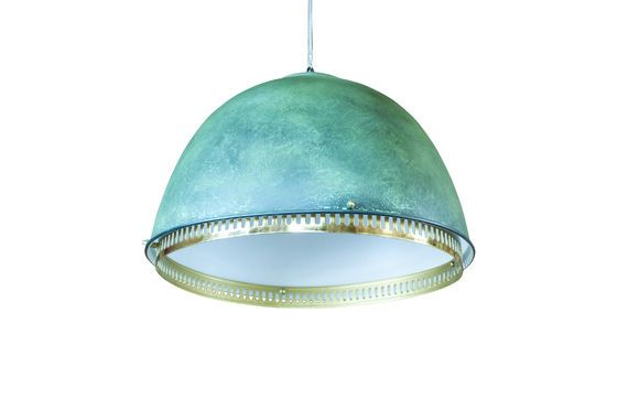Grote metalen ophanglamp Uranus Productfoto
