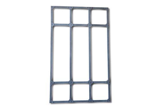 Grote metalen spiegel Productfoto