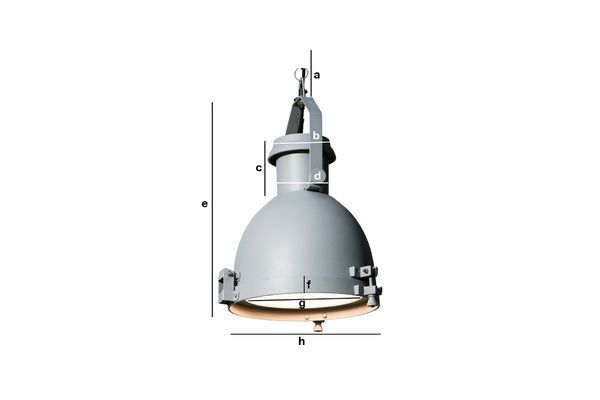 Productafmetingen Grote Spitzmüller hanglamp