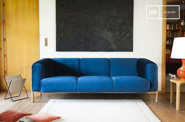 Grote Viela Velvet Sofa