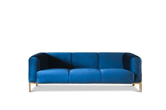Grote Viela Velvet Sofa Productfoto