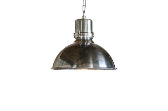 Grote zilveren hanglamp Lynce Productfoto