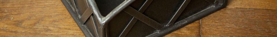 Benadrukte materialen Haardset