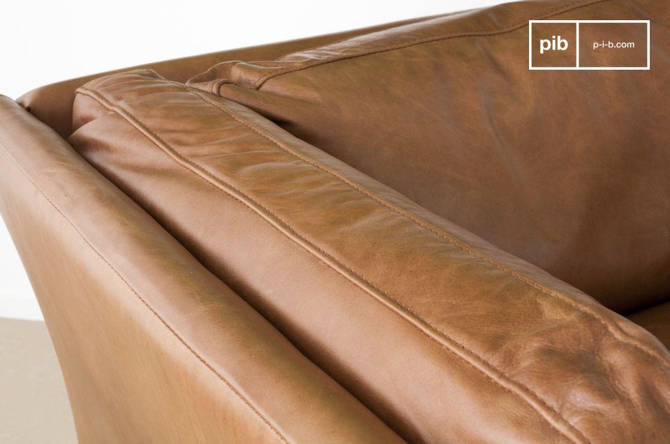 Misschien wel een van de meest succesvolle en prachtige lederen fauteuils in de categorie vintage