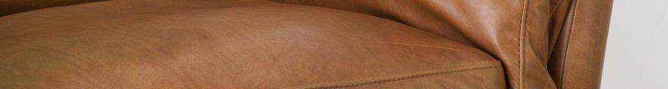 Benadrukte materialen Hamar fauteuil