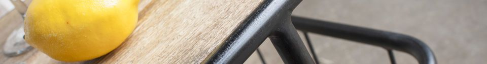 Benadrukte materialen Hamilton industriële trolley