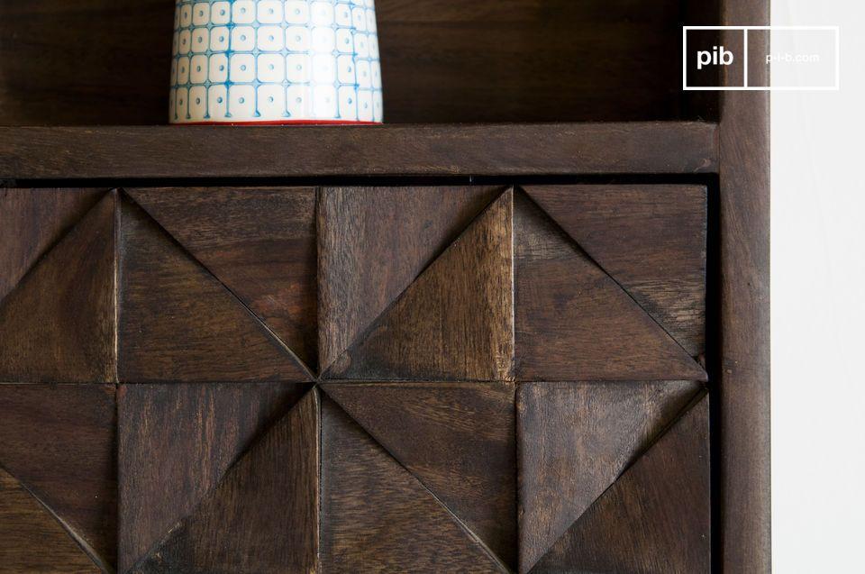 De Balkis wandkast is een uitgebreidere design stellingkast en is zowel esthetisch als praktisch