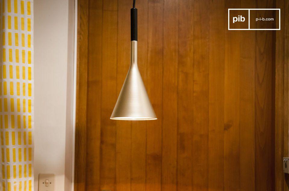 Hanglamp Bob goud afwerking