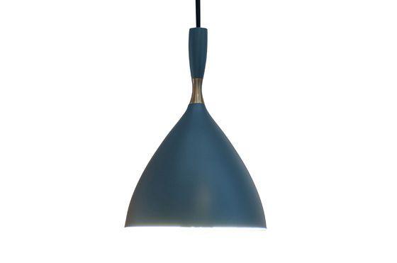 Hanglamp Dokka petrol blauw Productfoto